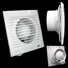 Wandventilator Abluft 100mm WD3K weiss modern Lüfter Ventilator für Küche WC Bad