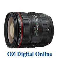 New Canon EF 24-70mm F/4.0 L F4.0 24-70 IS USM Lens in White Box 1 Year Au Wty