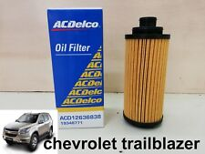 CHEVROLET TRAILBLAZER ELEMENT ASM-OIL FILTER ACDelco 2012-2014 GENUINE PARTS