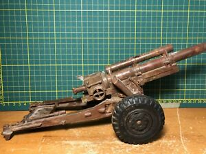 Vintage Marx Lumar Howitzer Cannon - Works