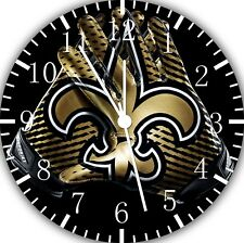 New Orleans Saints Frameless Borderless Wall Clock Nice For Gifts or Decor F114