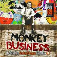 """Monkey Business:The Definitive Skinhead"" Double Vinyl LP Record (New & Sealed)"