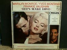 Vamos a hacer el amor LP de la banda sonora original Yves Montand etc. de Marilyn Monroe