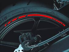 2015 HONDA CBR 1000RR 600RR 17-inch Wheel Rim Stickers Stripe Decals Vinyl Set