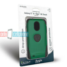 Trident Aegis Green Case Cover for Samsung Galaxy S 2 II D710 Epic 4G Touch R760