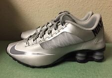 Nike Shox Superfly R4 Metallic Silver Cool Grey Women's Sz 6 Running Shoes NEW!!