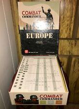 GMT Combat Commander Europe - 2006 For Parts