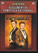 DVD ZONE 2--REGLEMENT DE COMPTES A OK CORRAL--LANCASTER/DOUGLAS/TOMKIN