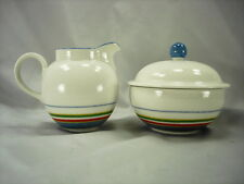 VILLEROY AND BOCH TIPO VIVA MULTICOLOR CREAM AND COVERED SUGAR - GOOD CONDITION