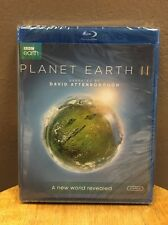 Planet Earth II BBC Earth (Blu-ray Disc, 2017, 2-Discs) NEW!!