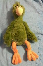 Dr Seuss Green Parrot Oh Say Can You Say Plush Bird Tag Kohls Cares For Kids New
