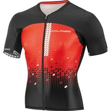 Louis Garneau Tri Course M-2 Triathlon Jersey Men's Medium Black/Flame