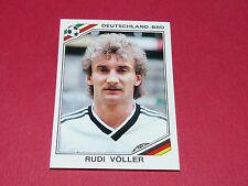 191 VÖLLER 1986 RFA BRD MEXICO 86 FOOTBALL PANINI WORLD CUP STORY 1990 SONRIC'S