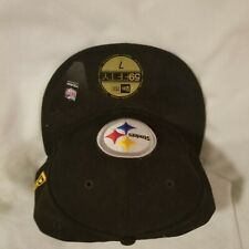 Pittsburgh Steelers New Era Fitted Hat NFL Cap 59Fifty Ben Roethlisberger 7