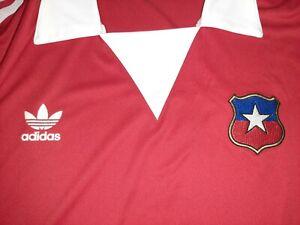 Chile soccer jersey retro vintage Adidas