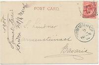 "GB ""LONDON-E. / 25""  Squared Circle Postmark (Cohen Type 2nd I D-25 CT) VF"