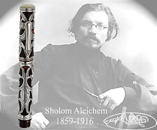 Urso Sholom Aleichem Old Style Sterling Silver Limited Edition Fountain Pen