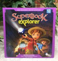 Superbook Explorer DVD V.13 Tower of Babel & Day of Pentecost, Isaac & Rebekah