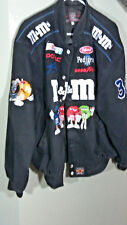 M&M Nascar Racing Twill Jacket #36 Ken Schrader Large