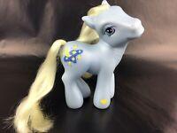 My Little Pony MOONDANCER Blue Yellow Hair Moon and Stars Hasbro G3 MLP