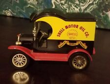 GEARBOX--SHELL MOTOR OIL--1912 FORD --GOODYEAR DIE-CAST BANK