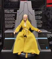 """6"""" Loose Action Figure Star Wars Black Series Last Jedi Snoke With Throne Stand"""