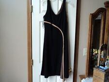 Bahari Group Womens ~ Size 12~  Black Dress~ Sleeveless ~ Great Condition