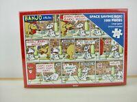 Brand New Jigsaw Puzzle Banjo the Dog 1000 Piece 68.5x49cm Cartoon Otter House