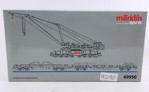 Marklin 49950 Digital Railroad Goliath Crane Set Rare