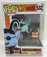 Funko Pop Dragon Ball Z DBZ King Kai & and Bubbles 532 Vinyl Figure #3