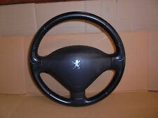 PEUGEOT 207 2007 STEERING WHEEL AND AIRBAG LEATHER STYLE