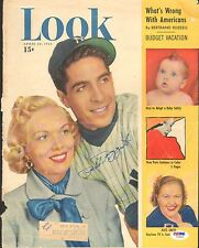 Phil Rizzuto Signed 1951 LOOK Magazine Cover PSA/DNA Gem Mint 10 Yankees Auto'd