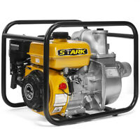 "Industrial 3"" Inch Portable Gas Powered Water Transfer Pump 4-Stroke Flood EPA"