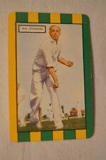 1953 - Vintage - Coles Cricket Card - Australian Cricketers - Ian Johnson
