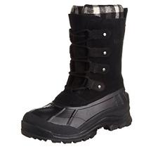 Kamik Women's Calgary Waterproof/Snow Boot Black 7 B(M) US