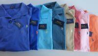 NWT Polo Ralph Lauren Solid Color Mesh Short Sleeve Polo Shirt BIG & Tall