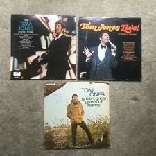 LOT OF (3) TOM JONES LP's: GREEN GRASS OF HOME / FEVER ZONE / TALK OF THE TOWN