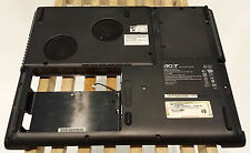 "Acer Aspire 1670 15"" Bottom Case with Cooler Assembly and Speakers APLW8041000"