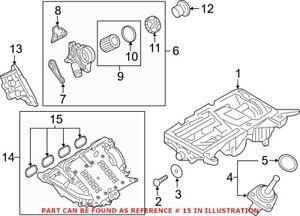 Genuine OEM Engine Intake Manifold Gasket Set for BMW 11612297462