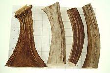 Lot Natural Elk Moose Antler Grip Door Cabin Handle production Carving #3811