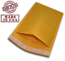 """500 #000 4x8 KRAFT BUBBLE PADDED MAILERS SHIPPING SELF SEAL ENVELOPES 4"""" x 8"""""""