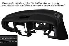 Gris Stitch Dash Dashboard Leather Piel tapa se ajusta Mitsubishi L200 K74 98-06