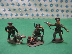 Vintage - Division Police Italian Painted by Hand - 1/32 Atlantic