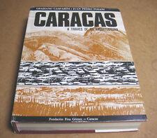 """ARCHITETTURA """"CARACAS  A TRAVÉS DE SU ARQUITECTURA"""" 1969 VENEZUELA ARCHITECTURE"""