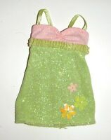 Barbie Fashion Fever Green Dress For Barbie Doll fn328