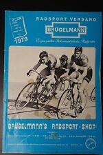 BRÜGELMANN catalog 1979, vintage, collector, Campagnolo, Cinelli, Colnago Masi