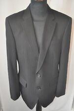 """River Island tailoring black pin stripe jacket size 40"""" R medium"""