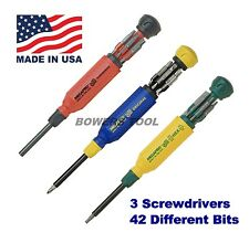 Megapro Original Tamperproof & Hex Multi Bit Screwdriver Set Torx Hex Phillips