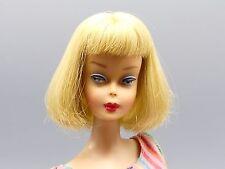 Vintage American Girl Barbie Long Hair High Color Pale Blonde #1070 from 1966