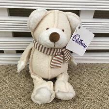 "Cadbury Cream Bear Soft Toy with tag 8"""